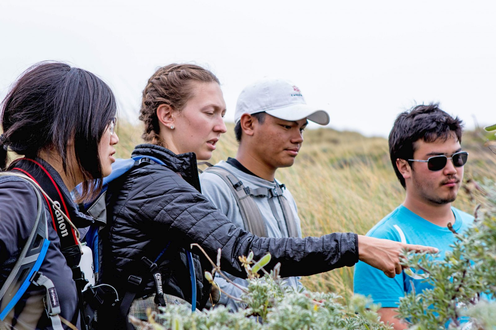 CEC Students at Point point Reyes