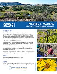 Mathias Graduate Student Research Grant Program 4