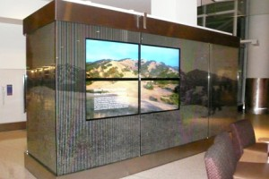 Wired Wilderness display case