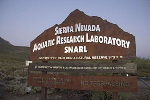 The Sierra Nevada Aquatic Research Laboratory provides a home base for scientists working in the Eastern Sierra. Image credit: Lobsang Wangdu
