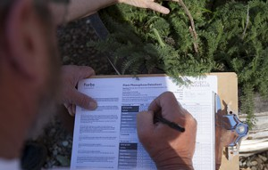The California Phenology Project, which tracks events in plant life cycles to monitor climate change, is one of many citizen-science and public outreach programs conducted at NRS reserves. Image credit: Lobsang Wangdu