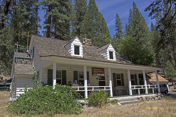 The NRS's Yosemite Field Station is the only university-affiliated research facility in Yosemite National Park. Image credit: Lobsang Wangdu