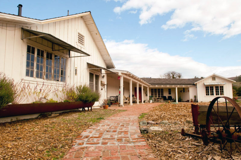 The 1950s-era Ranch House at Sedgwick Reserve will be renovated and modernized for efficiency and usability with a gift from UCSB alumna Linda Duttenhaver.