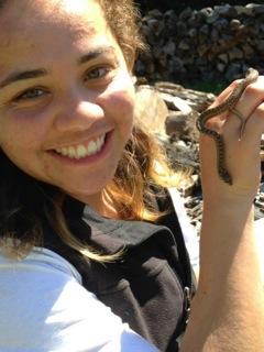 Celia Flores credits supercourse with confirming her plans to become a professional field biologist. Image courtesy Celia Flores